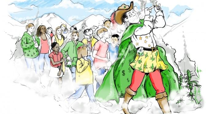 The Pot Piper Leads, Children, Teens Follow