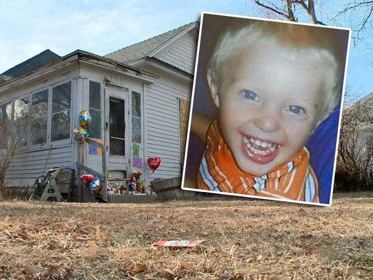 Two year old Levi Welton hid from the fire in a closet, while his parents smoked pot, in Sterling, CO.