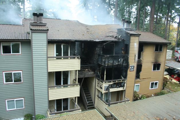 The hash oil explosion in a Bellevue apartment complex resulted in severe injuries to those who had to jump