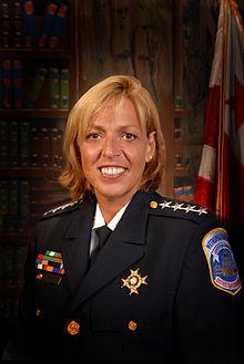 Washington, DC, Police Chief Cathy Lanier