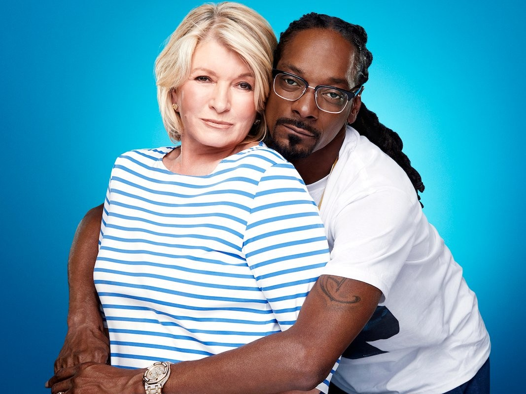 c733530ebc Martha Stewart and Snoop Dog s Potluck Dinner show on VH1 was used as the  theme of a Superbowl ad for T-Mobile. It was seen by countless families  with ...